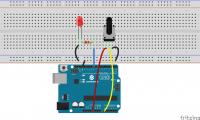 (五)arduino入门:通过电位器控制LED