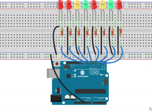 (六)arduino入门:LED流水灯